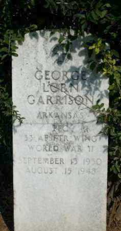 GARRISON (VETERAN WWII), GEORGE LORN - Logan County, Arkansas | GEORGE LORN GARRISON (VETERAN WWII) - Arkansas Gravestone Photos