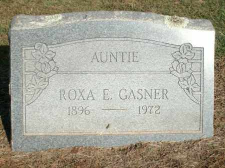 GASNER, ROXA E. - Logan County, Arkansas | ROXA E. GASNER - Arkansas Gravestone Photos