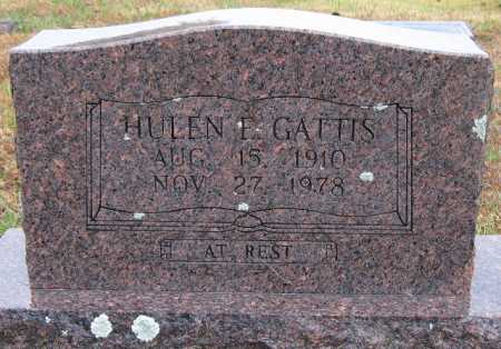 GATTIS, HULEN - Logan County, Arkansas | HULEN GATTIS - Arkansas Gravestone Photos