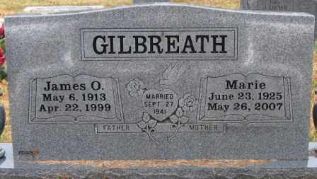 GILBREATH, JAMES O. - Logan County, Arkansas | JAMES O. GILBREATH - Arkansas Gravestone Photos