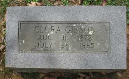 GIPSON, CLORA - Logan County, Arkansas | CLORA GIPSON - Arkansas Gravestone Photos