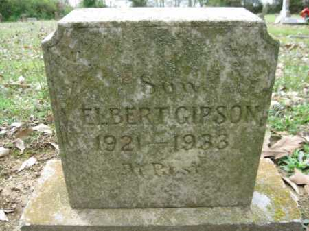 GIPSON, ELBERT - Logan County, Arkansas | ELBERT GIPSON - Arkansas Gravestone Photos