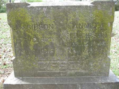 GIPSON, ANNIE - Logan County, Arkansas | ANNIE GIPSON - Arkansas Gravestone Photos