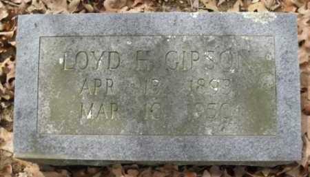 GIPSON, LOYD H - Logan County, Arkansas | LOYD H GIPSON - Arkansas Gravestone Photos