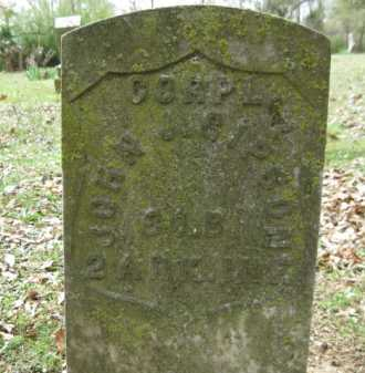 GIPSON (VETERAN UNION), JOHN J - Logan County, Arkansas | JOHN J GIPSON (VETERAN UNION) - Arkansas Gravestone Photos