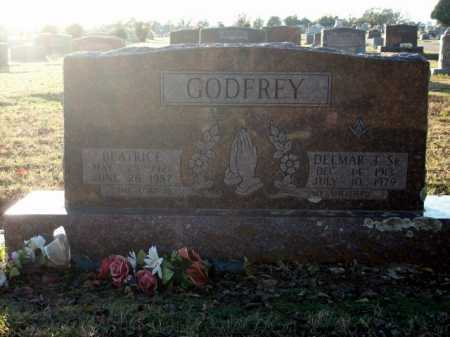 GODFREY, SR., DELMAR T. - Logan County, Arkansas | DELMAR T. GODFREY, SR. - Arkansas Gravestone Photos