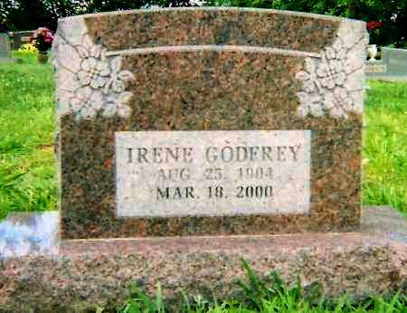 GODFREY, IRENE - Logan County, Arkansas | IRENE GODFREY - Arkansas Gravestone Photos