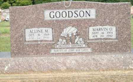 GOODSON, MARVIN O. - Logan County, Arkansas | MARVIN O. GOODSON - Arkansas Gravestone Photos