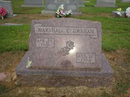 GRAHAM, MARSHALL C. - Logan County, Arkansas | MARSHALL C. GRAHAM - Arkansas Gravestone Photos