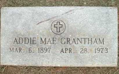 GRANTHAM, ADDIE MAE - Logan County, Arkansas | ADDIE MAE GRANTHAM - Arkansas Gravestone Photos