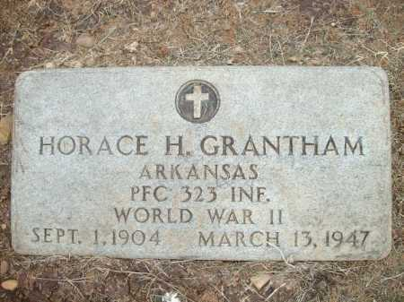 GRANTHAM (VETERAN WWII), HORACE H. - Logan County, Arkansas | HORACE H. GRANTHAM (VETERAN WWII) - Arkansas Gravestone Photos