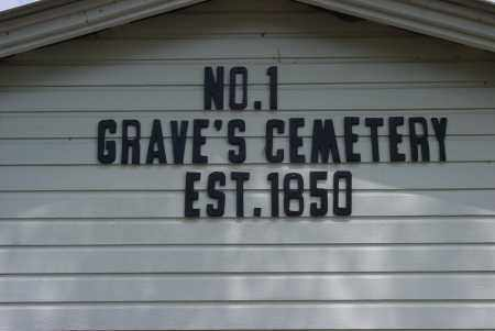 *GRAVES CEMETERY SIGN,  - Logan County, Arkansas |  *GRAVES CEMETERY SIGN - Arkansas Gravestone Photos