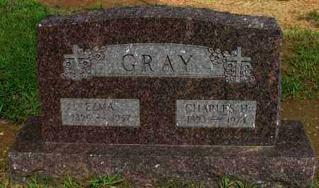 GRAY, CHARLES H - Logan County, Arkansas | CHARLES H GRAY - Arkansas Gravestone Photos