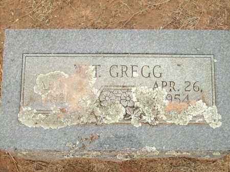 GREGG, W.T. - Logan County, Arkansas | W.T. GREGG - Arkansas Gravestone Photos