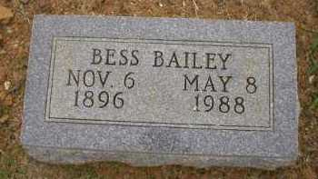 BAILEY GRIFFEY, BESS - Logan County, Arkansas | BESS BAILEY GRIFFEY - Arkansas Gravestone Photos