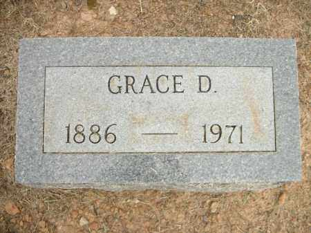 GRIFFEY, GRACE D. - Logan County, Arkansas | GRACE D. GRIFFEY - Arkansas Gravestone Photos
