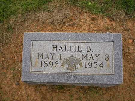 GRIFFEY, HALLIE B. - Logan County, Arkansas | HALLIE B. GRIFFEY - Arkansas Gravestone Photos