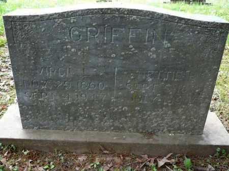 JOHNSON GRIFFIN, NETTIE - Logan County, Arkansas | NETTIE JOHNSON GRIFFIN - Arkansas Gravestone Photos