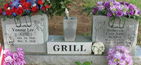 GRILL, VONNIE LEE - Logan County, Arkansas | VONNIE LEE GRILL - Arkansas Gravestone Photos