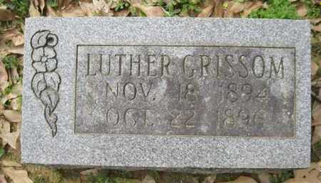 GRISSOM, LUTHER - Logan County, Arkansas | LUTHER GRISSOM - Arkansas Gravestone Photos