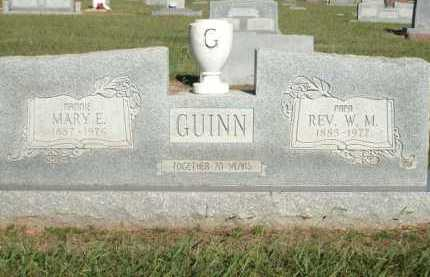 GUINN, MARY E. - Logan County, Arkansas | MARY E. GUINN - Arkansas Gravestone Photos