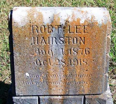 HAIRSTON, ROBERT LEE - Logan County, Arkansas | ROBERT LEE HAIRSTON - Arkansas Gravestone Photos