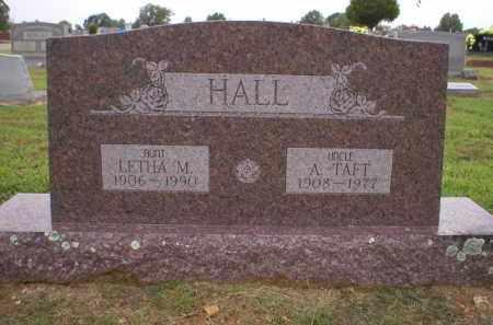 HALL, LETHA M. - Logan County, Arkansas | LETHA M. HALL - Arkansas Gravestone Photos