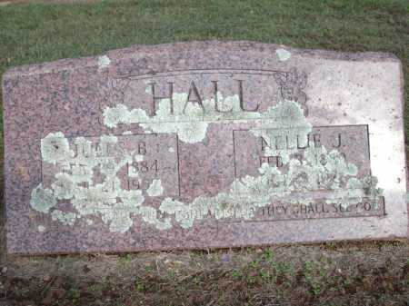 HALL, JULES B. - Logan County, Arkansas | JULES B. HALL - Arkansas Gravestone Photos