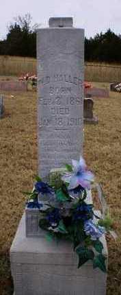 HALLER, W  D - Logan County, Arkansas | W  D HALLER - Arkansas Gravestone Photos