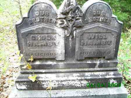"HAMBY, ROBERT Y. ""CHOCK"" - Logan County, Arkansas 