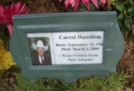 HAMILTON, CARROL - Logan County, Arkansas | CARROL HAMILTON - Arkansas Gravestone Photos