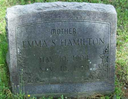HAMILTON, EMMA S. - Logan County, Arkansas | EMMA S. HAMILTON - Arkansas Gravestone Photos