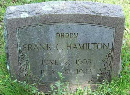 HAMILTON, FRANK C. - Logan County, Arkansas | FRANK C. HAMILTON - Arkansas Gravestone Photos