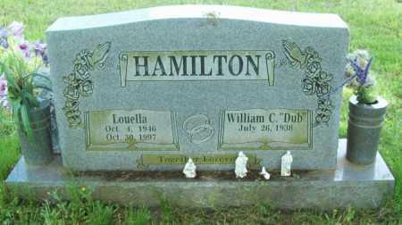 HAMILTON, LOUELLA - Logan County, Arkansas | LOUELLA HAMILTON - Arkansas Gravestone Photos