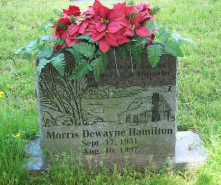 HAMILTON, MORRIS DEWAYNE - Logan County, Arkansas | MORRIS DEWAYNE HAMILTON - Arkansas Gravestone Photos