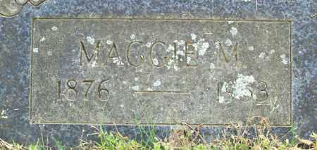 HAMILTON, MAGGIE M. - Logan County, Arkansas | MAGGIE M. HAMILTON - Arkansas Gravestone Photos