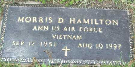 HAMILTON (VETERAN VIET), MORRIS D - Logan County, Arkansas | MORRIS D HAMILTON (VETERAN VIET) - Arkansas Gravestone Photos