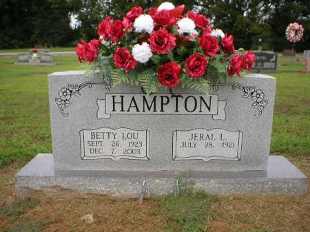 HAMPTON, BETTY LOU - Logan County, Arkansas | BETTY LOU HAMPTON - Arkansas Gravestone Photos