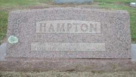 HAMPTON, MAX C. - Logan County, Arkansas | MAX C. HAMPTON - Arkansas Gravestone Photos