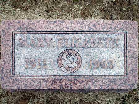 HAMPTON, MARY ELIZABETH - Logan County, Arkansas | MARY ELIZABETH HAMPTON - Arkansas Gravestone Photos