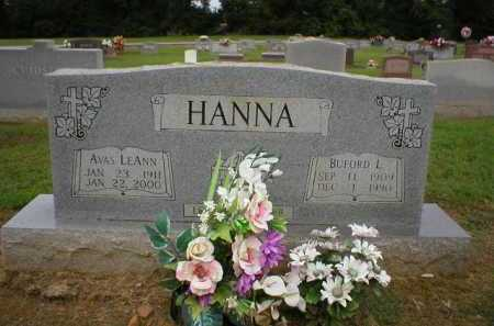 HANNA, BUFORD L. - Logan County, Arkansas | BUFORD L. HANNA - Arkansas Gravestone Photos