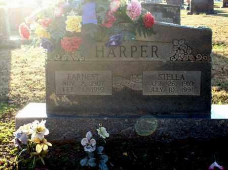 HARPER, EARNEST - Logan County, Arkansas | EARNEST HARPER - Arkansas Gravestone Photos