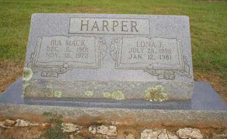 HARPER, LONA F. - Logan County, Arkansas | LONA F. HARPER - Arkansas Gravestone Photos