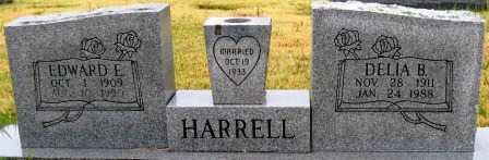 HARRELL, EDWARD E. - Logan County, Arkansas | EDWARD E. HARRELL - Arkansas Gravestone Photos