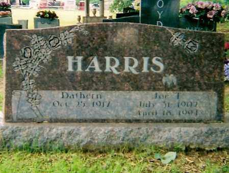 HARRIS, JOE T - Logan County, Arkansas | JOE T HARRIS - Arkansas Gravestone Photos