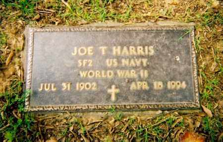 HARRIS (VETERAN WWII), JOE T - Logan County, Arkansas | JOE T HARRIS (VETERAN WWII) - Arkansas Gravestone Photos
