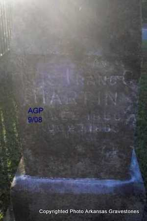 HARTIN, MRS FRANC C - Logan County, Arkansas | MRS FRANC C HARTIN - Arkansas Gravestone Photos