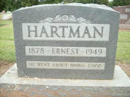 HARTMAN, ERNEST - Logan County, Arkansas | ERNEST HARTMAN - Arkansas Gravestone Photos