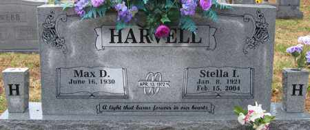 HARVELL, STELLA I. - Logan County, Arkansas | STELLA I. HARVELL - Arkansas Gravestone Photos