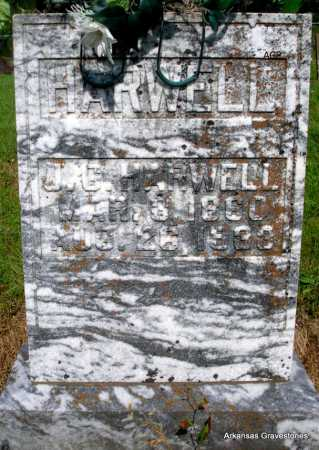 HARWELL, J  G. - Logan County, Arkansas | J  G. HARWELL - Arkansas Gravestone Photos